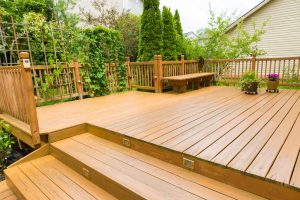 Beautiful residential deck - Home Deck Builders in Lincoln